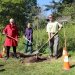 Ceremonial Tree Planting, trees, planting