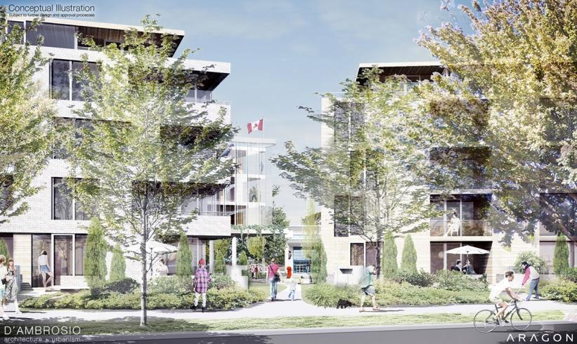 Esquimalt Village Project South View